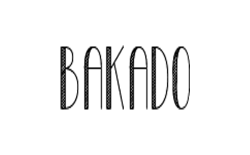 logo of polish producer of beds for dogs Bakado