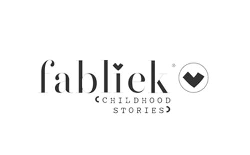 logo of polish producer of blankets for kids Fabliek