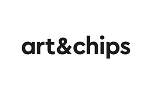 logo of polish graphic design studio art&chips