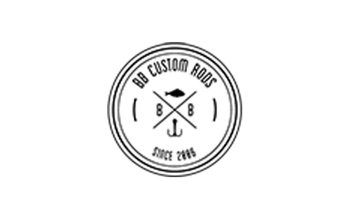 logo of BB custo rods produzer of premumium customized fishing rods