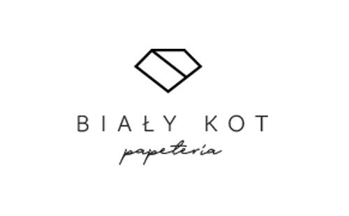 logo of polish stationery producer Biały kot