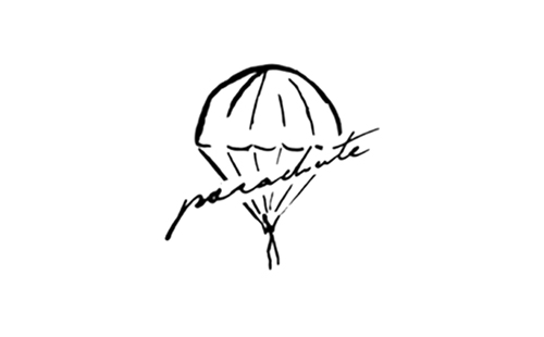 logo of french lingerie brand Parachute Caleçons