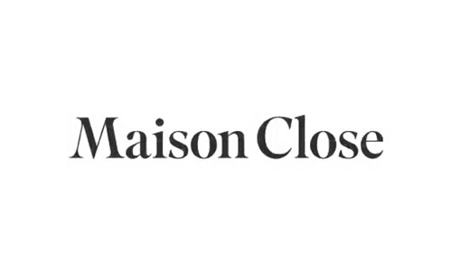 logo of french lingerie brand Maison Close