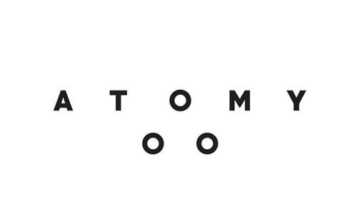 logo of polish clothing brand Atomy