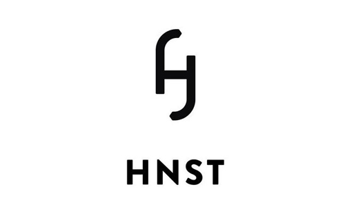 logo of dutch jeans brand HNST