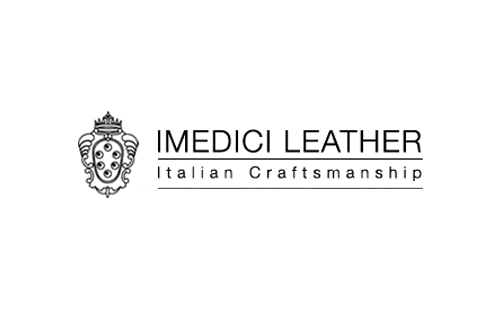 logo of italian brand I Medici, producer of purses and other first-rate leather products