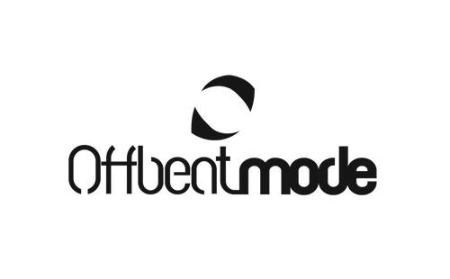 logo Offbeatmode, Offbeatmode, Danish activewear brand