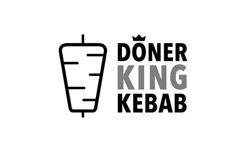 logo of polish doner kebab producer Doner King Kebab