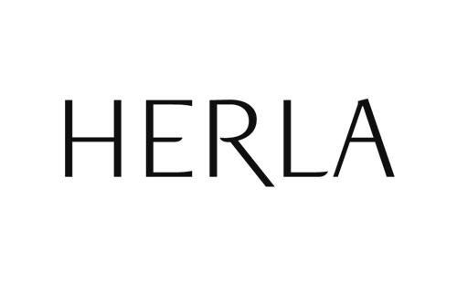 logo of Herla, polish womans cosmetics producer