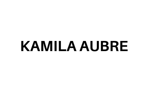 logo of belgian brand Kamila Aubre Unisex botanical perfumes made of 100% natural and vegan ingredients