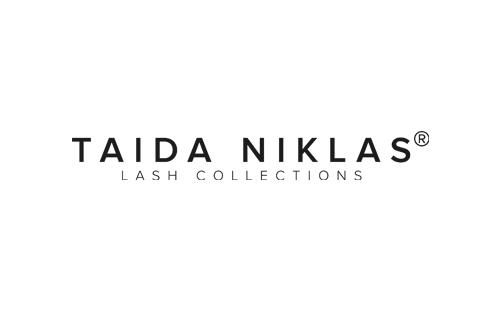 logo of polish lash enhancement cosmetics Taida Niklas
