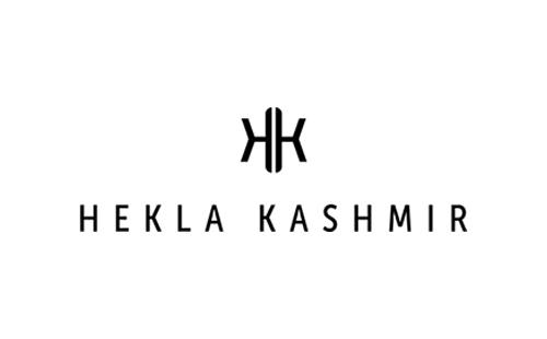 logo of Hekla Kashmir, nowegian clothing brand