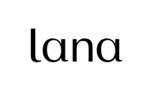 logo of lana, organic clothing brand