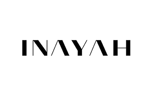 logo of british clothing brand Inayah