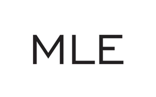 logo of Polish clothing brand MLE from Sopot